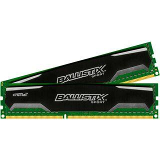 16GB Crucial Ballistix Sport DDR3-1600 DIMM CL9 Dual Kit