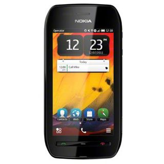 Nokia 603 black-black