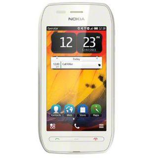 Nokia 603 white-white