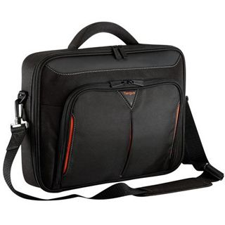 Targus Classic+ Clamshell bis 39,62cm schwarz/rot
