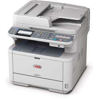 OKI MB471w S/W Laser Drucken/Scannen/Kopieren/Faxen LAN/USB 2.0/WLAN