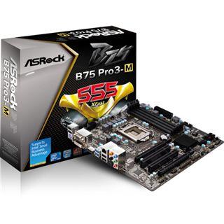 ASRock B75 Pro3-M Intel B75 So.1155 Dual Channel DDR3 mATX Retail