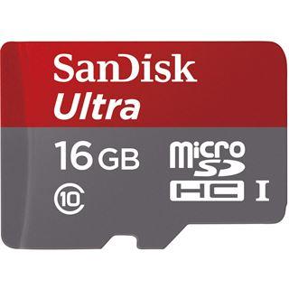 16 GB SanDisk Ultra microSDHC UHS-I Retail