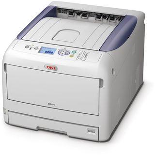 OKI C831n Farblaser Drucken LAN