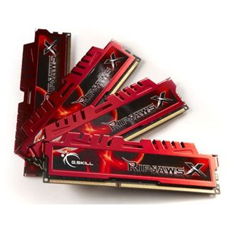32GB G.Skill RipJawsX DDR3-1866 DIMM CL10 Quad Kit