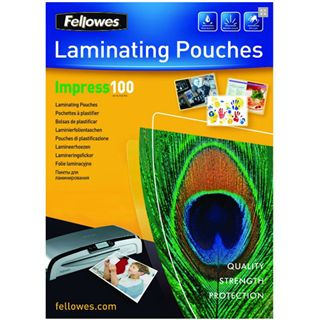 Fellowes GmbH 5351111 Laminierfolie (100 Stück)