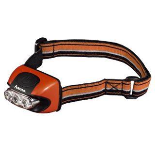 Hama Stirnlampe HL-30, Orange