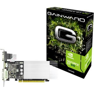 1GB Gainward GeForce GT 610 SilentFX Passiv PCIe 2.0 x16 (Retail)