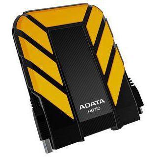 """500GB ADATA Dash Drive AHD710-500GU3-CYL 2.5"""" (6.4cm) USB 3.0 gelb"""
