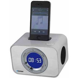 Blaupunkt iClock10WH Uhrenradio mit iPod Dock weiß
