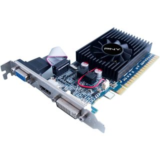 1GB PNY GeForce GT 610 Aktiv PCIe 2.0 x16 (Retail)