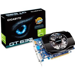 2GB Gigabyte GeForce GT 630 Aktiv PCIe 2.0 x16 (Retail)
