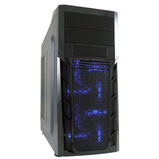 LC-Power Gaming 974B Midi Tower ohne Netzteil schwarz