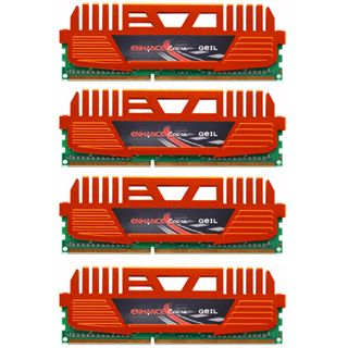 16GB GeIL Enhance Corsa DDR3-1600 DIMM CL9 Quad Kit