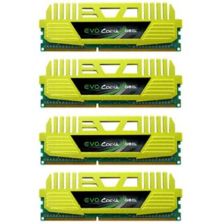 32GB GeIL EVO Corsa Quad Channel DDR3-2400 DIMM CL10 Quad Kit
