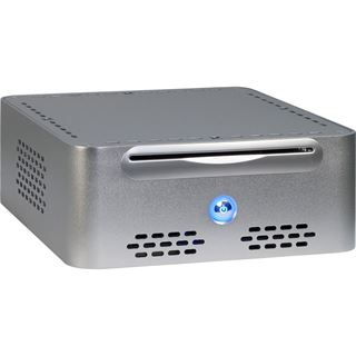 Inter-Tech Q-5 ITX Tower 65 Watt silber