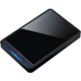 """1000GB Buffalo MiniStation HD-PC1TU2/BK-EU 2.5"""" (6.4cm) USB 3.0 schwarz"""