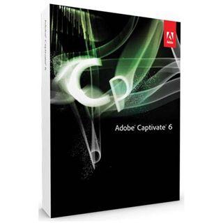 Adobe Captivate 6.0 32/64 Bit Deutsch Office FPP PC (DVD)