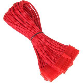 BitFenix 24-Pin ATX Verlängerung 30cm - sleeved red/red