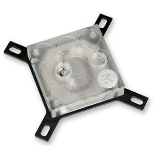 EK Water Blocks EK-Supremacy Acryl/Kupfer (vernickelt) CPU Kühler