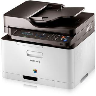 Samsung CLX-3305FN/TEG Farblaser Drucken/Scannen/Kopieren/Faxen LAN/USB 2.0