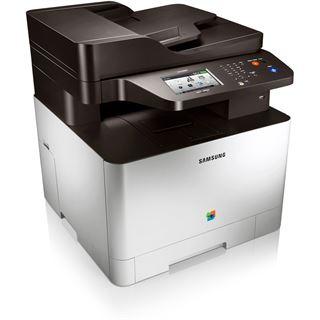 Samsung CLX-4195FW/TEG Farblaser Drucken/Scannen/Kopieren/Faxen LAN/USB 2.0/WLAN