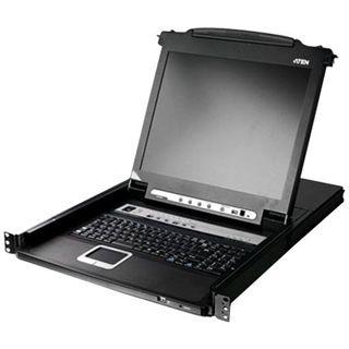 ATEN Technology CL5708M 8-fach 19Zoll-VGA-LCD-Konsole