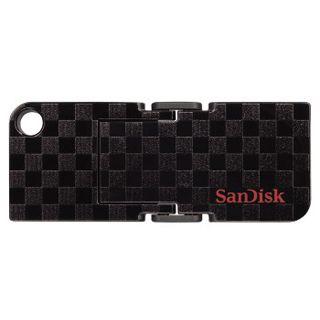 32 GB SanDisk Cruzer Pop Checkerboard schwarz USB 2.0