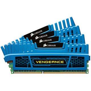 16GB Corsair Vengeance Blue DDR3-1866 DIMM CL9 Quad Kit