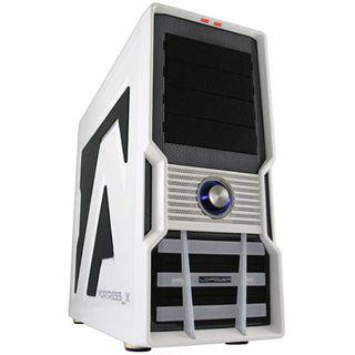LC-Power Gaming 973W Fortress_X Midi Tower ohne Netzteil weiss/schwarz