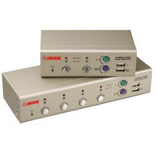 Longshine LCS-K702D 2-fach Desktop KVM-Switch