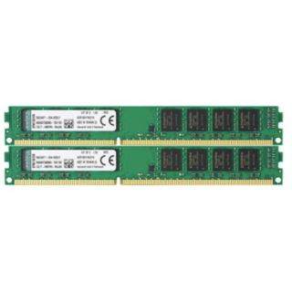 16GB Kingston ValueRAM DDR3-1600 DIMM CL11 Dual Kit
