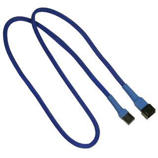 Nanoxia 60 cm blaues Verlängerungskabel für 3-Pin Molex (NX3PV60B)