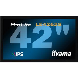 "42"" (106,68cm) iiyama ProLite PL LE4262S schwarz 1920x1080 HDMI/S-Video/VGA/DVI-D/seriell"