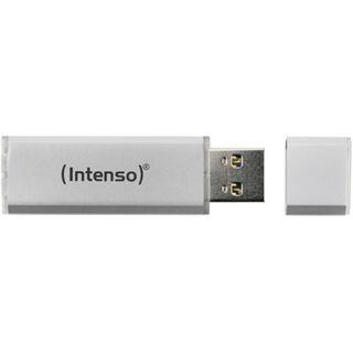 64 GB Intenso Alu Line silber USB 2.0