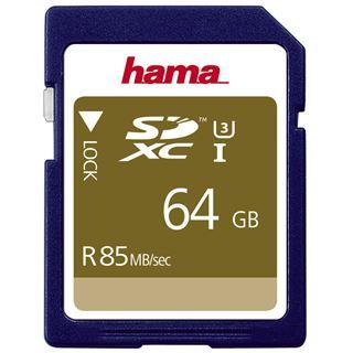 64 GB Hama UHS-I 85MB/s SDXC Class 10 Bulk