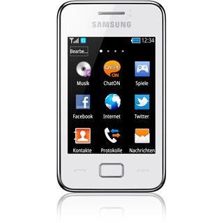 Samsung Star III S5220 30 MB weiß