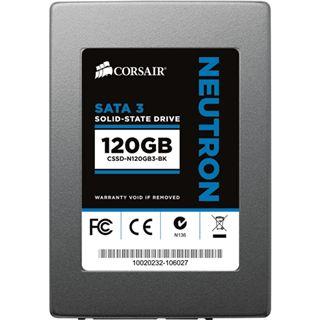 """120GB Corsair Neutron Series 2.5"""" (6.4cm) SATA 6Gb/s MLC asynchron (CSSD-N120GB3-BK)"""