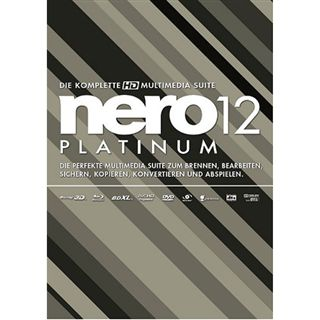 Platinum Nero 12.0 Platinum 32/64 Bit Deutsch Brennprogramm FPP PC (CD)