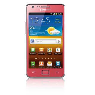 Samsung Galaxy S2 I9100 16 GB pink