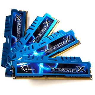 32GB G.Skill RipJawsX DDR3-1866 DIMM CL9 Quad Kit
