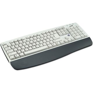 Genius Tastatur KB-06XE white PS/2 Handb.