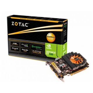 4GB ZOTAC GeForce GT 630 Aktiv PCIe 2.0 x16 (Retail)