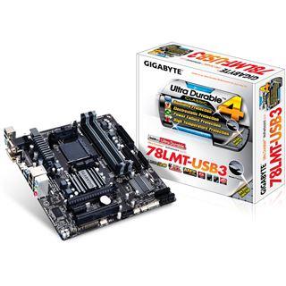 Gigabyte GA-78LMT-USB3 AMD 760G So.AM3+ Dual Channel DDR3 mATX Retail