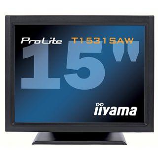 """15"""" (38,10cm) iiyama ProLite T1531SAW schwarz 1024x768 1xVGA / 1xDVI"""