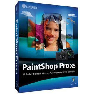Corel Paint Shop Pro X5 32/64 Bit Deutsch Grafik FPP PC (DVD)