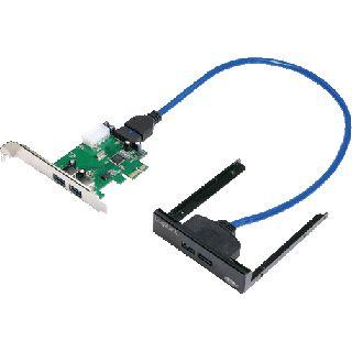 LogiLink PC0058 4 Port PCIe x1 inkl. Frontblende retail