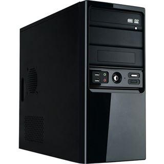 HKC 4672GD Mini Tower 450 Watt schwarz