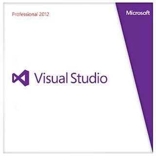 Microsoft Visual Studio 2012 Professional inkl. 1Jahr MSDN 32/64 Bit Englisch Tool FPP PC (DVD)