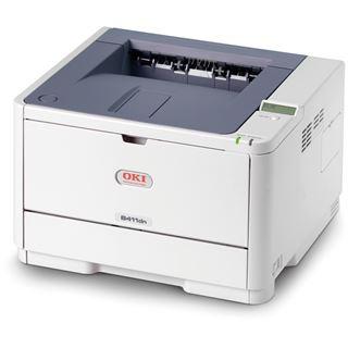 OKI B411dn S/W Laser Drucken LAN/Parallel/USB 2.0